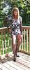 Modelling on the deck - 2 (donnacd) Tags: sissy tgirl tgurl dressing crossdress crossdresser cd travesti transgenre xdresser crossdressing feminization tranny tv ts feminized domina touchy feely he she look 易装癖 シー