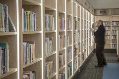 Athy Library_RA+U_Ireland_2017_Shelves (SteMurray) Tags: approved kathy library reddy anthony rau architecture laois ireland irish ste murray church design restoration reuse public civic