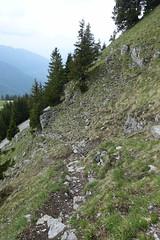 Trail to Chalets de l'Eau Froide @ Hike to Pointe de Vélan (*_*) Tags: faverges annecy hautesavoie france 74 europe savoie may 2018 spring printemps hike hiking randonnée marche mountain montagne bauges hiketopointedevélan afternoon cloudy pointedevelan chaletsdeleaufroide trail sentier fog
