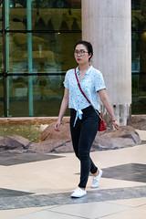 Doha - Near City Center Mall (from Córdoba) Tags: doha girl candid expat