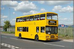 PIXIE (Jason 87030) Tags: alexander pixie pxi1319 daventry olympian leyland yellow school northnats operatot run hill royaloakway may 2018 depot ayrshire northants northamptonshire doubledecker