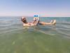 En el Mar Muerto (pablocba) Tags: mar muerto dead sea jordania jordan flotando leyendo gopro hero5