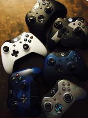 Controllers Galore (Doc Ra AOD) Tags: xbox xboxonex xboxone console nevertomany