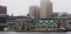 DUX_6652r (crobart) Tags: halifax dartmouth ferry harbour skyline fog foggy