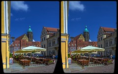 Marktplatz Pirna 3-D / CrossView / Stereoscopy / HDRaw (Stereotron) Tags: saxony sachsen pirna marktplatz streetphotography urban citylife europe germany deutschland crosseye crossview xview pair freeview sidebyside sbs kreuzblick 3d 3dphoto 3dstereo 3rddimension spatial stereo stereo3d stereophoto stereophotography stereoscopic stereoscopy stereotron threedimensional stereoview stereophotomaker stereophotograph 3dpicture 3dimage twin canon eos 550d yongnuo radio transmitter remote control synchron kitlens 1855mm tonemapping hdr hdri raw