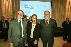 """22/05/18 - Almoço na CNI: lançamento do livro """"Modernização das Leis de Trabalho -  O Brasil pronto para o futuro"""", Rogério Marinho"""