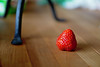 Keep IT simple (Jens III) Tags: bokeh strawberry macro simple table food