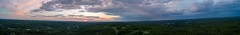 Sunset and Storm (arckphoto) Tags: dji drone northbridge phantom4pro sky clouds sunset weather massachusetts unitedstates us newengland storm panorama reflections