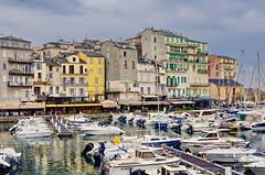 86 - Bastia au fond du Vieux Port (paspog) Tags: bastia port haven hafen vieuxport mai may 2018 églisesaintjeanbaptiste église kirche church