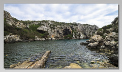 [0345] Cales Coves. (Pepe Balsas) Tags: cala calescoves mar agua rocas