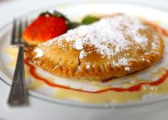 1B5A5646 (David Danzig) Tags: garden gun club the battery atlanta restaurant dessert rhubarb hand pie
