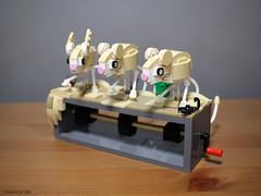 Dipodidae Automata (Takamichi Irie) Tags: lego dipodidae automata animal diorama desert mause rat cute