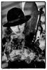 smokescreen (teltone) Tags: assassin canon 5d gangster noir manual studio portrait lightroom adobe dpp nik silverefex filmnoir face beauty smoke hat
