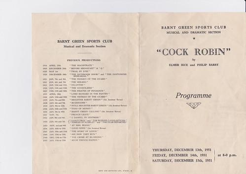 Dec 1951: Programme 1