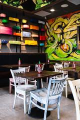 Seoul Taco Interior (Spencer Pernikoff) Tags: food stlouis nikon d750 sigma 35mm 3514 korean mexican burrito