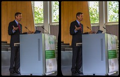 Dr. Neal Barnard @ Vegmed 2018 in 3-D / CrossEye / Stereoscopy / HDRaw (Stereotron) Tags: vegmed kongress berlin freieuniversität vegetarian vegan speaker rede public gathering event medical doctor disease prevention cancer obesity education crosseye crossview xview pair freeview sidebyside sbs kreuzblick 3d 3dphoto 3dstereo 3rddimension spatial stereo stereo3d stereophoto stereophotography stereoscopic stereoscopy stereotron threedimensional stereoview stereophotomaker stereophotograph 3dpicture 3dimage twin canon eos 550d yongnuo radio transmitter remote control synchron kitlens 1855mm tonemapping hdr hdri