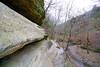 Narrow path along the rocks, Starved Rock Park, Illinois (Andrey Sulitskiy) Tags: usa illinois starvedrock