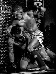 mma_yunquera-henares_11-02-2017_0010 (byJMdF) Tags: amarilla canon eos c5d mk ii aficionado amateur lightroom documental foto photo photography fotografia color bn deportes artes marciales mixtas karate kickboxing boxeo muay thai judo lucha libre grecorromana jiu jitsu brasileño wushu san da sambo taekwondo hombres de honor 82 la jaula yunquera henáres guadalajara bnw