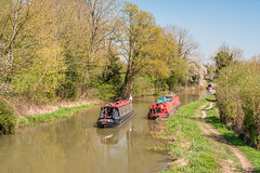 Beautiful sunny day at Shipton on Cherwell & Thrupp, The Oxford Canal today 19-4-18. (Anthony P Morris) Tags: thrupp shipton shiptononcherwell barge longboat oxfordcanal annies anniestearoom anthonypmorris farmoor oxford oxfordshirethruppenglandunitedkingdomgb