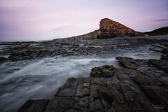 Nash Point (steved_np3) Tags: nash point cardiff bridgend sea rocks sky muted landscape seascape