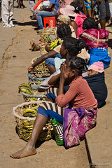 Ihosy - Bananas for sale (NettyA) Tags: 2017 africa betsileo fianarantsoaprovince ihosy madagascar malagasy children localpeople markettown people town travel