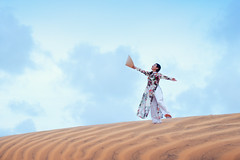 Beautiful vietnamese lady with vietnam culture traditional dress standing at a red sand Mui ne, Ho Chi Minh City Vietnam (Patrick Foto ;)) Tags: ancient asia asian background beautiful beauty blue costume culture cute day desert dress dune female girl healthy indochina landscape light long lotus mui muine nature ne old orange outdoor people person portrait red sand sea sky summer sun sunset tourism traditional transportation travel vietnam vietnamese vintage white woman young thànhphốphanthiết bìnhthuận vn
