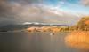 Derwent Water (JasonPC) Tags: derwent water lake district skiddaw mountain snow peaks golden light boat afternoon