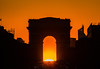 sunset under Arc de triomphe (Benoit photography) Tags: 2018 beautiful city urban photographer photography photograph images pictures photos fotos bild street lightroom canon 6d photoshop benoitphotography