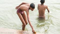 Bath-22.jpg (Karl Becker Photography) Tags: india varanasi ganges river nikon bath youngman boy man shirtless