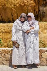 Mujeres musulmanas, Karahayıt, Turquía