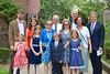Group Photo After Everett's First Communion (Joe Shlabotnik) Tags: mom dad sue peter sarahp nancy lily may2018 bliksem verne madeleine everett violet 2018 afsdxvrzoomnikkor18105mmf3556ged
