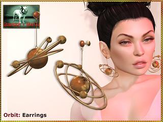 Bliensen - Orbit - earrings