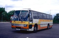 303. A155 MNE: Smiths Happiways, Wigan (chucklebuster) Tags: a155mne smiths happiways leyland tiger duple laser derby