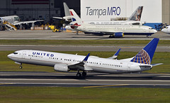 United 737-900 Rotating (Infinity & Beyond Photography) Tags: united air lines boeing 737 737900 b737 aircraft airliner airplane tampa airport tpa planes
