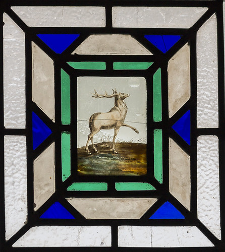 Ayston, St Mary's church, Window detail