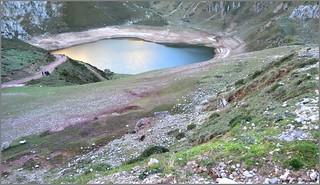 Lago de La Cueva - Lagos de Saliencia - Asturias