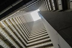 Sharp Corner - Hongkong 142/188 (*Capture the Moment*) Tags: 2017 architektur atrium estate fenster hauses hochhäuser hongkong häuser innenhof intothesky sky skyscraper sonya7m2 sonya7mark2 sonya7ii sonyfe1635mmf4zaoss sonyfe41635 sonyilce7m2 windows indenhimmel