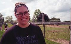 Leslie (Rachel Fantone) Tags: 2017 film kodak cracker box animal farm people outdoors smile