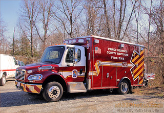 Prince Georges County Fire & EMS Department Ambulance