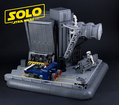 SOLO - the chase (Boba-1980) Tags: 1980 afol boba1980 chewbacca contest falcon han ids imperium lego luke microfighter millennium moc movie patrol resistance scene skywalker solo speeder starwars trooper