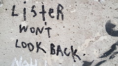 Lister...Swanston Street, Melbourne... (colourourcity) Tags: colourourcity originalcontent streetart streetartaustralia streetartnow graffiti melbourne burncity awesome nofilters streetartmelbourne graffitimelbourne laneways lister anthonylister manman tags bollards