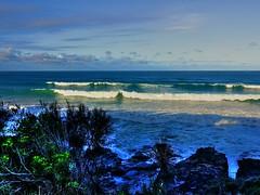 End of autumn big waves IV (elphweb) Tags: hdr highdynamicrange nsw australia sea ocean water seaside waves surf