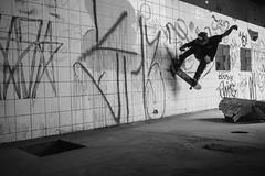 Jan Yuri - Nosejam (JPSOUZASB) Tags: skateboard skateboarding streets skatelife street spot ruins pb preto bw brasil
