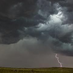 Lightning in Wyoming (Notkalvin) Tags: lightning storm wyoming notkalvin mikekline notkalvinphotography outdoor fury mothernature electricity darkclouds driveandshoot