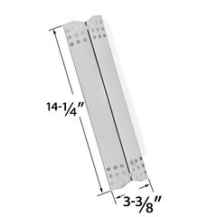 STAINLESS-STEEL-HEAT-SHIELD-REPLACEMENT-FOR-TERA-GEAR-780-0390-GRILL-MASTER-720-0737-NEXGRILL-720-0697 (grillpartszone) Tags: stainless steel heat plate tera gear