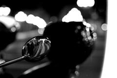 mirror mirror (Gabo Barreto) Tags: bilbao mirror paisvasco basquecountry reflection grain pushprocessing motorcycle bike bokeh filmisnotdead ishootfilm kodaktrix analoguephotography selfdeveloped scannedfromfilm