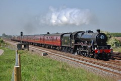 Coast to coast Express (paul_braybrook) Tags: 45690 leander lms jubilee steamlocomotive coltonjnct york northyorkshire liverpool scarborough railtour railway railwaytouringcompany trains