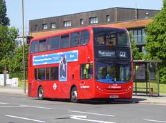 SLN 12349 - SN64OGY - ELTHM ROAD YORKSHIRE GREY - SAT 19TH MAY 2018 (Bexleybus) Tags: adl dennis enviro 400 hybrid eltham road yorkshire green se9 stagecoach london 122 12349 sn64ogy
