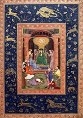 Mughal Pentecost (Lawrence OP) Tags: biblical pentecost holyspirit dove fire indian asian illumination manuscript blessedvirginmary apostles singapore