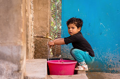 Child of Skoura (Ludovic Di Iorio) Tags: portrait pentax maroc marocco enfant child children skoura oasis palmeraie colors couleurs kid